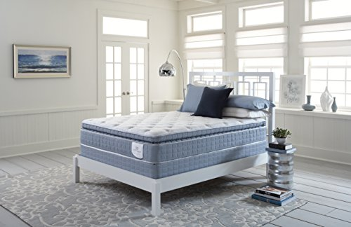 Serta Perfect Sleeper Edinburgh Super Pillow Top Mattress Hyrbid Gel Innerspring (King)
