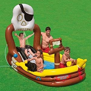 Intex 57133np la piscine bateau pirate jeux for Piscine intex amazon