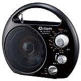 キュリオム(Qriom) AM・FMラジオ【実り】 ブラック DOR-M100