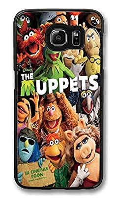 Galaxy S6 Case, [Exec Tough] Galaxy S6 Slim Fit Case [Corner Protection] Armor Bumper Shockproof Case For Galaxy S6 Muppets Lovely Customizable Hard PC Samsung Galaxy S6