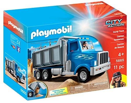 PLAYMOBIL Dump Truck Playset JungleDealsBlog.com