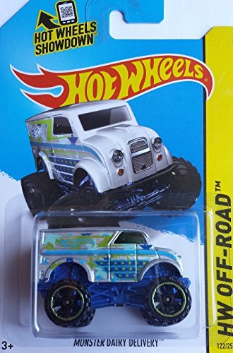 2014 Hot Wheels Hw Off-Road - Monster Dairy Delivery - [Ships in a Box!] - 1