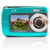 SVP Aqua 5500 ( Blue ) 18 MP Dual Screen Waterproof Digital Camera