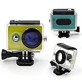Vktech 防水ハウジングケース  カメラ 防水ケース  40M水中防水保護  Xiaomi Yi対応 スポーツアクションカメラ