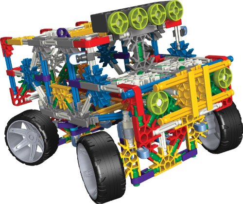 K'NEX Classics 4 Wheel Drive Truck, 313 Pieces - 1