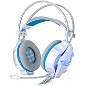 NiceEshop TM Gaming Headset 7.1 Channel USB Surround Stereo PC Gaming Headset Headphones With Mic Enhanced Bass...