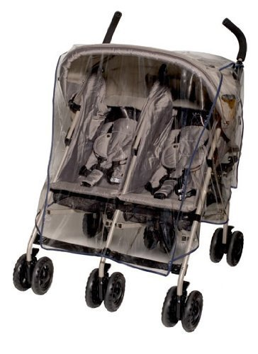 Jolly Jumper Weathershield For Side By Side Stroller - Uv Protection - Phthalate Free front-167509