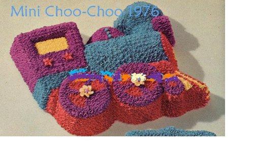Wilton Mini Cake Pan: Choo-Choo Train - Small (508-493, 1976) (Wilton Train Pan compare prices)