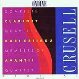 クルーセル:クラリネット四重奏曲全集