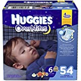 Huggies Overnites Diapers, Size 6, 54 Count