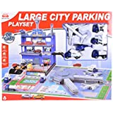 Planet Of Toys Large City Parking Playset