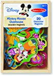 Mickey Mouse Clubhouse Wooden Magnets