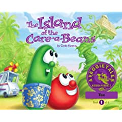 The Island of the Care-a-Beans - VeggieTales Mission Possible Adventure Series #1: Personalized for Tee (Boy)