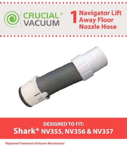 Crucial Vacuum 700953600684  1 Replacement Shark Navigator Lift-Away Pro Floor Nozzle Hose NV355 NV356 NV357, Compare to Part No.156FFJ (Shark Vacuum Nv 352 compare prices)