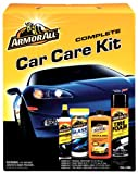 51PahFM8ztL. SL160  Armor All Car Care Kit (Ultra Shine Wash &amp; Wax 16 Ounce, Original Protectant 10 Ounce, Tire Foam 20 Ounce and Glass Wipes 25 Count), 1 Kit (Pack of 6)