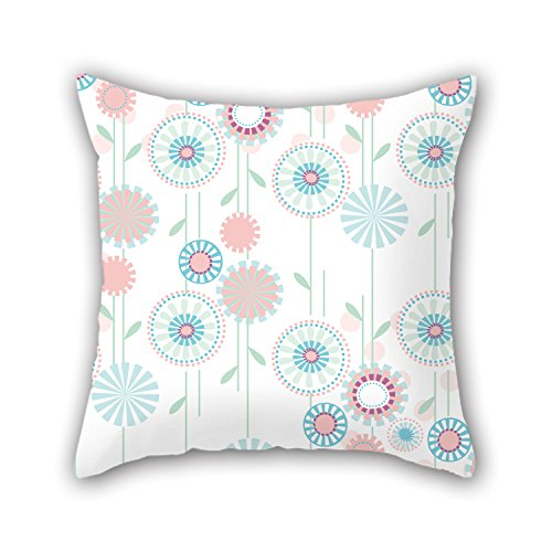 PILLO Flower Throw Pillow Covers 18 X 18 Inches / 45 By 45 Cm Gift Or Decor For Boys,kids,car,teens Boys,kids