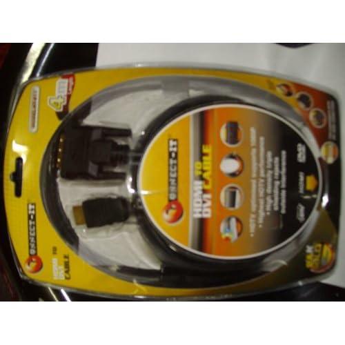 Connect-IT-4-4m-HDMI-to-DVI-Lead