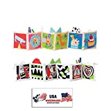 Taf Toys Kooky Clip-on Pram Book For Baby Stroller, Pram, Carriage And Crib Entertainment And Development (Kooky...