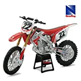 1/12 【トゥートゥーモータースポーツ】【NewRay1/12 Two Two Motorsports Chad Reed Bike(Red)】ニューレ...