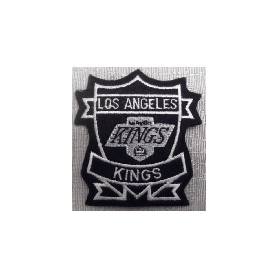 LOS ANGELES KINGS NHL Hockey Embroidered Logo Crest PATCH