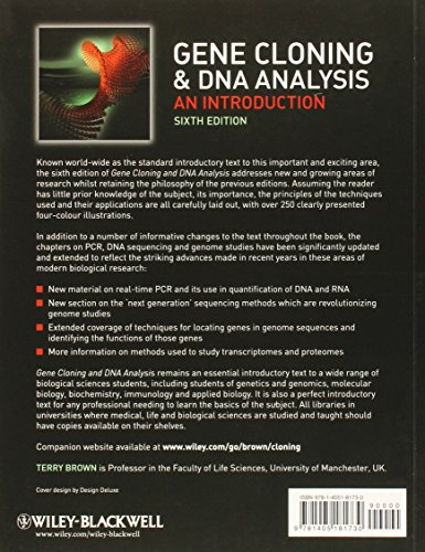 Gene Cloning and DNA Analysis: An Introduction