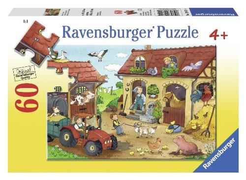 Ravensburger Farm Chores Puzzle (60-Piece) - 1