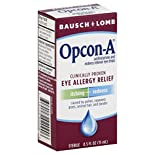 Bausch & Lomb Opcon-A Eye Allergy Relief, 0.5 fl oz (15 ml)