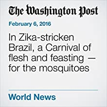 In Zika-stricken Brazil, a Carnival of flesh and feasting - for the mosquitoes Other by Nick Miroff, Dom Phillips Narrated by Jill Melancon