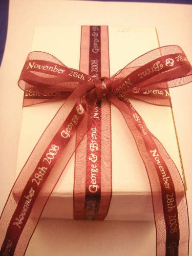 Personalized Ribbons For Wedding Favors Personalized