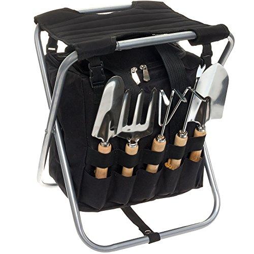 garden stool tool set