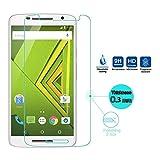#5: Dashmesh Shopping Tempered glass screen protector For Motorola Moto X Play