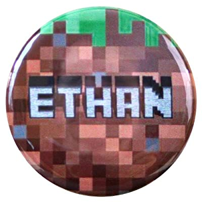 Ethan Name Tag - Inspired By Minecraft from Henry the Buttonsmith