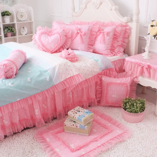 Queen Size Princess Bedding 9989 front
