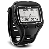 Garmin Forerunner 910XT GPS Multi Sports Watch With Options Triathlon Bundle, Black