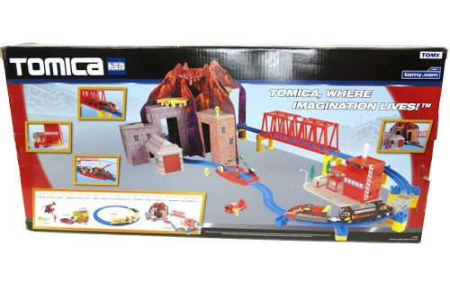 Tomica Hypercity Rescue Hyper Rescue Volcano  цена и фото