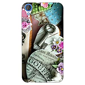 Jugaaduu Cakes Back Cover Case For HTC Desire 820 Dual Sim
