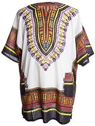 Ragstock Traditional African Print Unisex Dashiki