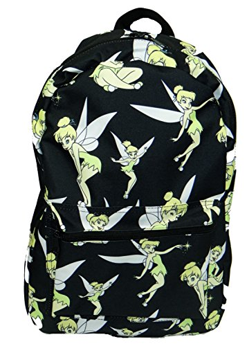 DIsney Peter Pan Tinkerbell All-over Print Sublimated Backpack (Peter Pan Backpack compare prices)