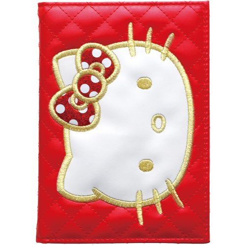 SunStar Hello Kitty notebook starts 12/2013 weekly A6 cover KT MYKT red S2926741