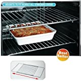 Chrom Plated Universal Adjustable Oven Shelf Fits To All Ovens Adjust from 35 to 60 cm