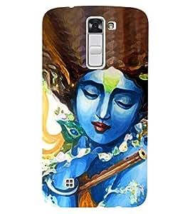 Chiraiyaa Designer Printed Premium Back Cover Case for LG K10 LTE (Krishna flute) (Multicolor)
