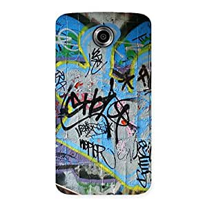 Gorgeous Random Art Multicolor Back Case Cover for Nexsus 6