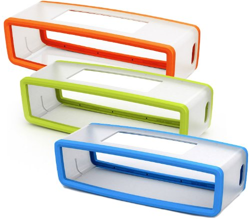 Bose Soft Covers For Soundlink Mini - Orange Green & Blue