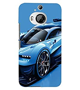 PRINTSWAG CAR Designer Back Cover Case for HTC ONE M9 PLUS
