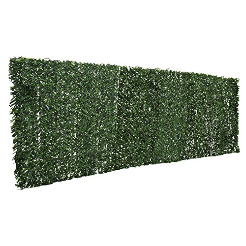 Jago siepe artificiale sintetica finta frangivista con for Siepe finta per terrazzo