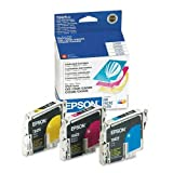 Epson T042520 Ink Cartridge, 3 Cartridges (1 C/1 M/1 Y), Cyan, Magenta, Yellow