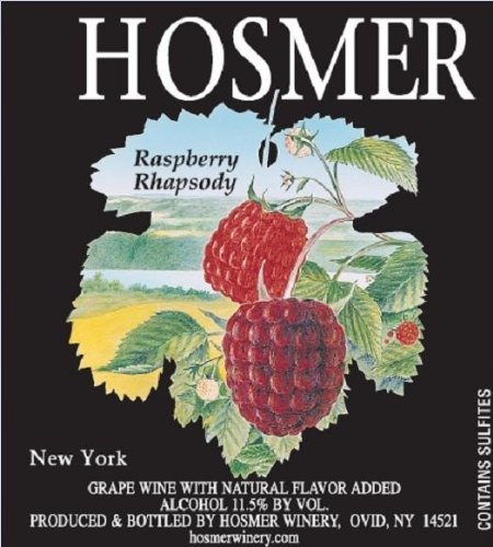 Hosmer Raspberry Rhapsody Nv 750 Ml.