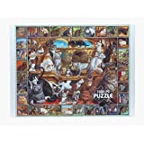 White Mountain Puzzles World of Cats - 1...