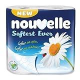 Nouvelle Soft Toilet Paper Pack quantity: 40 rolls.
