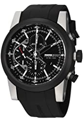 MomoDesign Composito Men's Two Tone Titanium Automatic Chronograph Watch MD280TT-01BKBK-RB